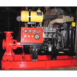 Engine Driven Fire Pump Sets